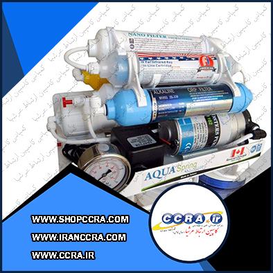 دستگاه تصفیه آب خانگی آکوا اسپرینگ UF-SF3800