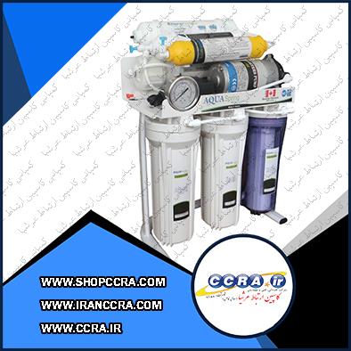 دستگاه تصفیه آب خانگی آکوا اسپرینگ مدل RO-S7-NATURE1200