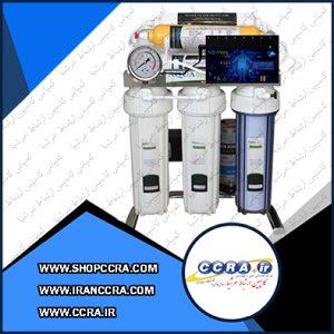 دستگاه تصفیه آب خانگی آکوا اسپرینگ مدل CHROME-BA7