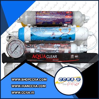 دستگاه تصفیه آب خانگی آکوا کلییر مدل BLACK RADIX-2800