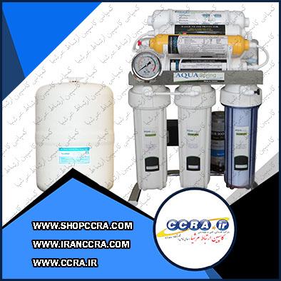 دستگاه تصفیه آب خانگی آکوا اسپرینگ مدل CHROME-AN8