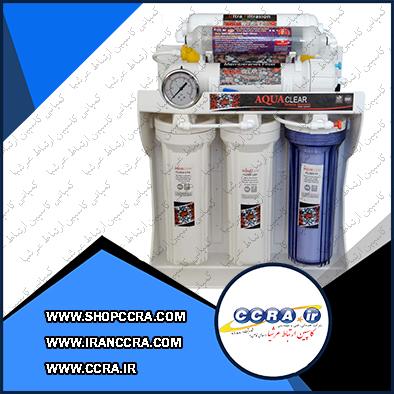 خدمات پس از فروش دستگاه تصفیه آب 8 مرحله ای آکوا کلییر مدل RO-CUF-2240