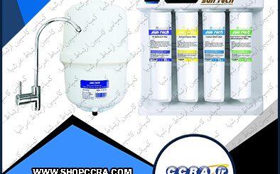 دستگاه تصفیه آب خانگی شش مرحله ای سانتک