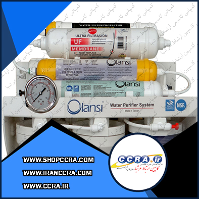 دستگاه تصفیه آب خانگی اولانسی مدل RO-FT2500