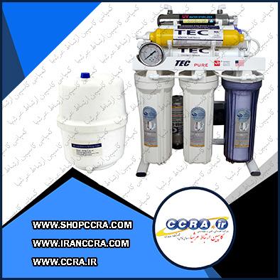 دستگاه تصفیه آب خانگی هفت مرحله ای تک مدلT4412