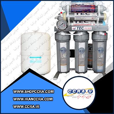 دستگاه تصفیه آب خانگی تک مدل CHROME2019-FT9050