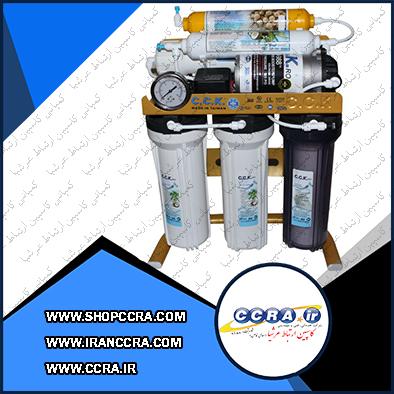 دستگاه تصفیه آب خانگی c.c.k مدل RO-GOLD 2019