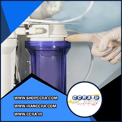 مشکل رایج حبس هوا در دستگاه تصفیه آب خانگی (الف)