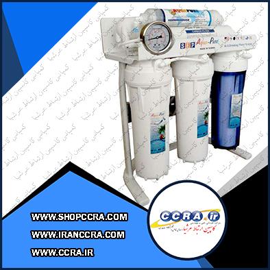 دستگاه تصفیه آب 6 مرحله ای آکوا پیور مدل RO-PURE-1800