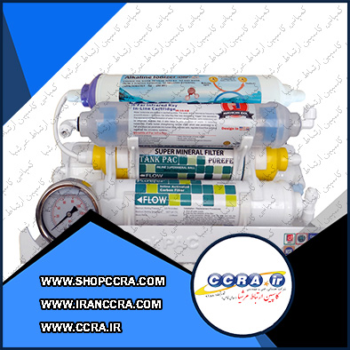 دستگاه تصفیه آب خانگی تانک پک مدل RO-TP5400