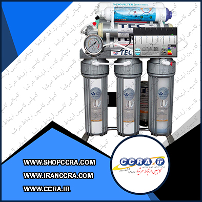دستگاه تصفیه آب خانگی تک پیور مدل Chrome2019-AT8100