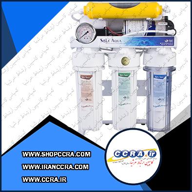 فروش دستگاه تصفیه آب خانگی سول آکوا مدل RO-103P6B