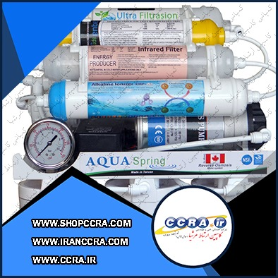 دستگاه تصفیه آب خانگی آکوا اسپرینگ مدل RO-AF2400