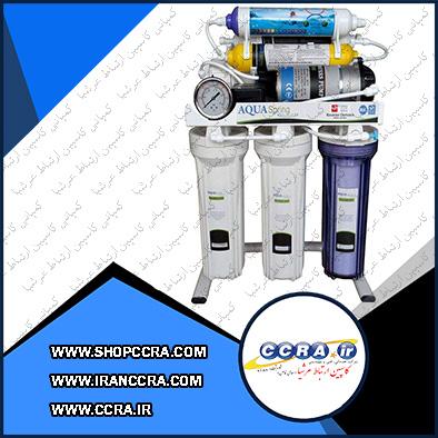 دستگاه تصفیه آب خانگی آکوا اسپرینگ مدل UF-SF3700